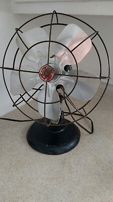 Antique GE General Electric Fan 5 Blades :) Works 12 in Vintage GE Fan