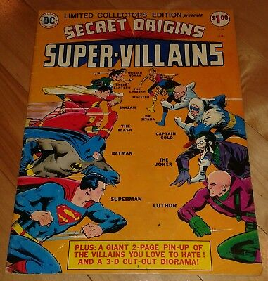 SECRET ORIGINS SUPER-VILLAINS Treasury C-39 (VF) 1975 DC 32145