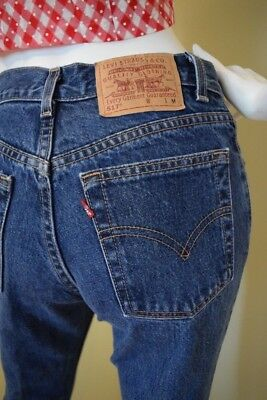 Levi's 517 Levis Vintage Slim Fit Boot Cut Like Redone 26 x 31 Made in the USA