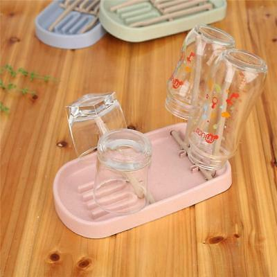 Coffee Mug Baby Bottle Dryer Rack Kitchen Clean Drying Shelf Feeder Holder T