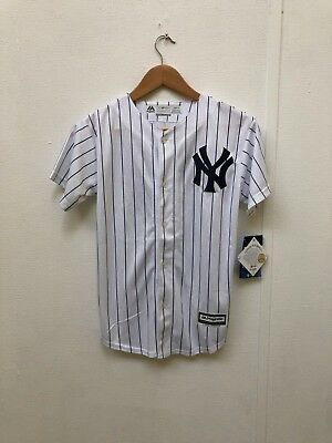 New York Yankees Majestic Kid's MLB Home Jersey - 10-12 Years - Morrow 98 - New