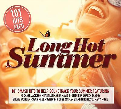 101 HITS LONG HOT SUMMER: 5CD SET (New Release August 10th 2018)
