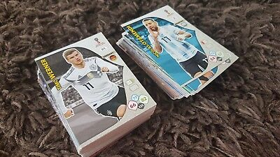 Panini Adrenalyn World Cup Russia 2018 football cards chose 10