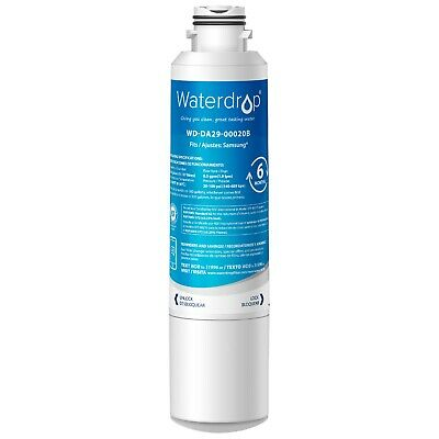 Fits DA2900020B HAF-CIN Comparable Refrigerator Water Filter 1 PACK by Waterdrop