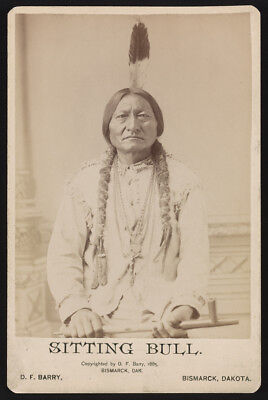 "New Art Print of 1885 Photo D.F. Barry ""Sitting Bull"" Bismarck Dakota"
