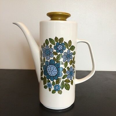 J & G MEAKIN TOPIC Retro Coffee Pot.