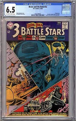 The Brave and the Bold #52 (Feb-Mar 1964, DC) CGC Graded 6.5 #0332144014