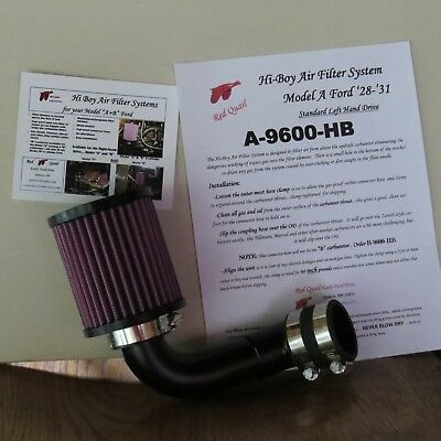 NEW Model A Ford Air Filter System New - Hi Boy Lite-Weight DESIGN