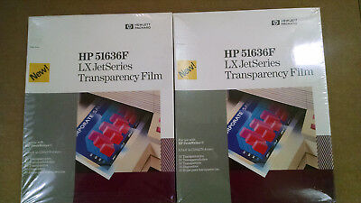 Hp 51636F 100 Sheets For Lx Jetseries Transparency Film