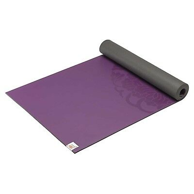 (black) - Gaiam Studio Select Dry-Grip Yoga Mat. Delivery is Free