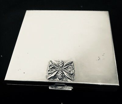 GEORG JENSEN Sterling Silver Compact