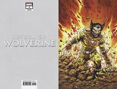 Return Of Wolverine #1 1:200 MCNIVEN FANG COSTUME VIRGIN VARIANT
