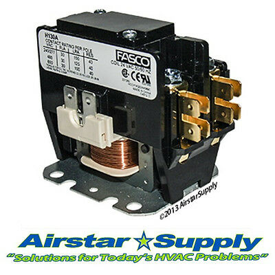 H130A  30 Amp • 1 Pole • 24V Contactor Replaces Carrier Bryant Payne 3100-15Q228