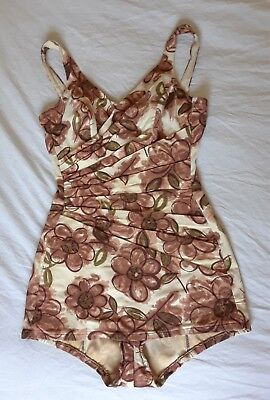 Vintage 1950's/1960's Floral Catalina Swimsuit