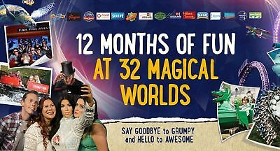 Merlin Discount pass 20% off up to 49% off Entry theme parks *fast del* etickets