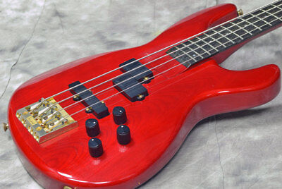 Aria Pro II IGB-85 See True Red Used Electric Bass FREE Shipping