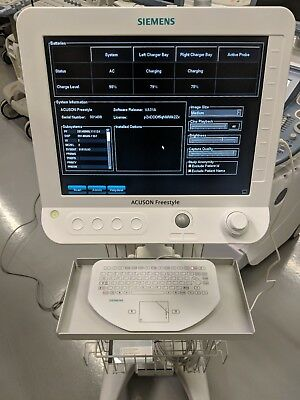 SIEMENS ACUSON FREESTYLE PORTABLE ULTRASOUND  SYSTEM W/ C5-2 & L13-5 - Pain Mng