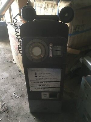 CT1 Payphone with Mechanism Key Public Telephone Coin Phone Telecom PMG
