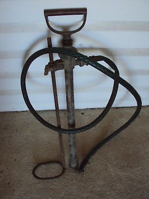 Vintage Coldstrean (Like Rega) Hand Pump ?brass With Nozzle Collectable Display
