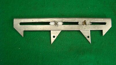 "Cain Mfg Inc Usa  6"" Long Quick Set Sheet Metal Scriber, Divider, Caliper scribe"