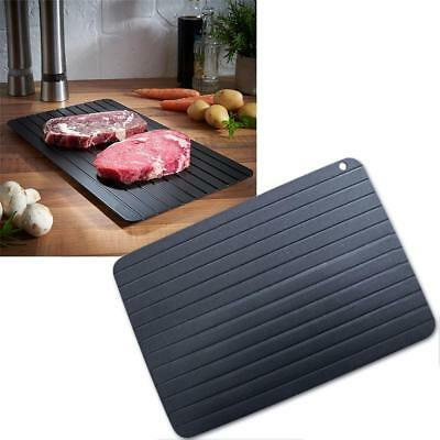 Aluminum Thawing Plate Fast Defrosting Tray Thaw Frozen Food Meat Kitchen Tools
