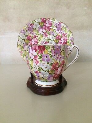 Royal Standard Virginia Stock chintz cup and saucer