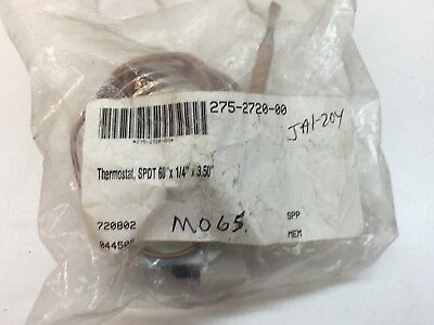 NEW Invensys Mears 275-2720-00 Pool/Spa Thermostat C1-25, Max 100°F, E16835