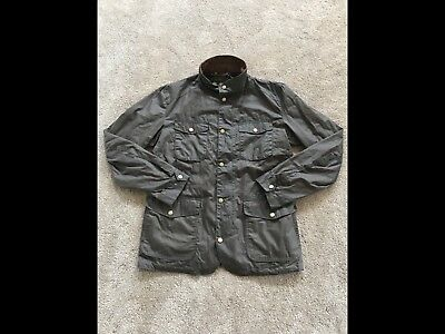 Men's Barbour Lightweight Ogston Jacket Size Small New With Tags Color Brown