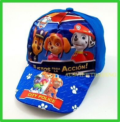 PAW Patrol cartoon kids boys girls Cap / Hat Brand new cotton