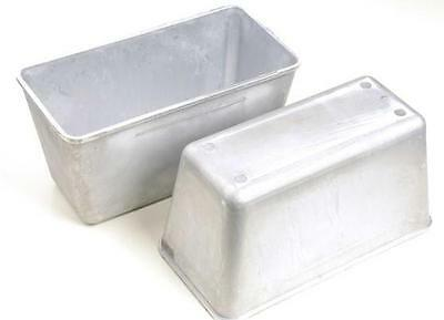 Kitchen Pastry Bread Loaf Cake Baking Pan Bakeware Aluminium Mold Set of 2 New