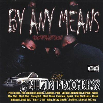 BY ANY MEANS - V/a - Cd - Explicit Lyrics - **excellent Condition**