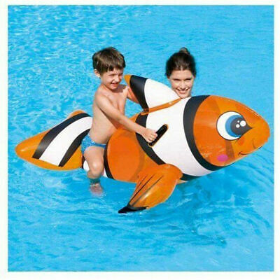 Inflatable Children Swimming Pool Toys Kids Ride On Cute Dolphin