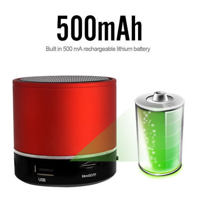 Wireless Bluetooth Speaker Mini Bass Speaker USB MP3 Player Music Speaker