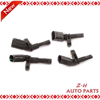 Axle 4Pcs ABS Wheel Speed Sensor Fit AUDI SKODA VW Beetle Jetta Golf Passat