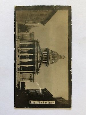 The American Tobacco Co. Cigarette Card - Paris The Pantheon