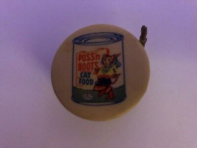 Puss'n Boots Cat Food Measuring Tape.