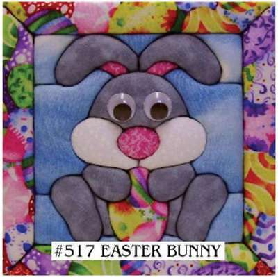 "Bunny Quilt Magic Kit 6""X6"" 724180005173"