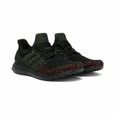 8bb83f2ced1b4 New Adidas Ultra Boost Clima Aq0482 Core Black Multicolor Solar Red Green  Mens
