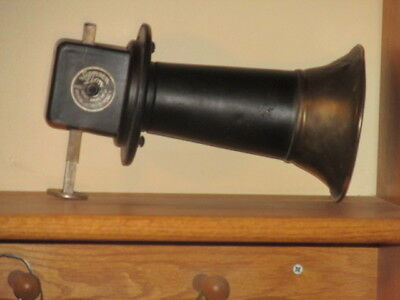 Antique Samson Lion KLAXON Type HORN Automobile Car American Electric Co USA