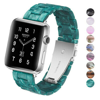 Resin Bracelet Wrist Strap For Apple Watch Band iWatch Series 4 3 2 1 38 40 44mm