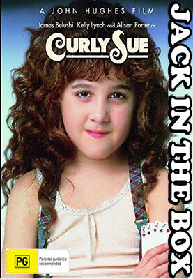 Curly Sue DVD NEW, FREE POSTAGE WITHIN AUSTRALIA REGION ALL