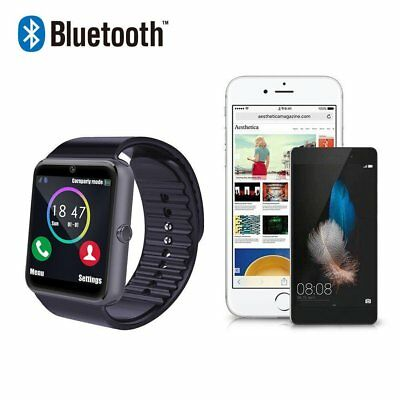 Activity Bluetooth Smart Wrist Watch GT08 Touch Screen Phone Mate Android iPhone