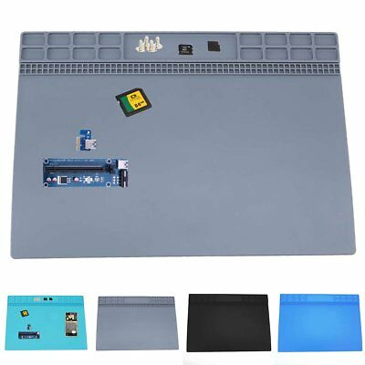 Magnetic Heat Silicone Pad Desk Mat Soldering Repair For BGA