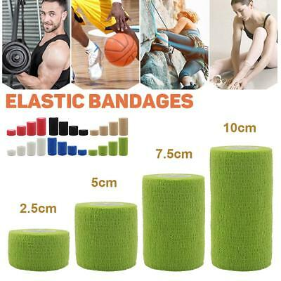 Self-Adhesive Medical Bandage Tapes Cohesive Elastic Wrap First Aid Sports Care