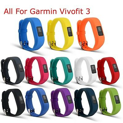 (Set of 13) - I-SMILE Replacement Wristband With Secure Clasps for Garmin