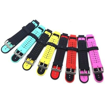 (Pack of 8) - HWHMH Colourful Replacement Silicone Bands With Pin Removal