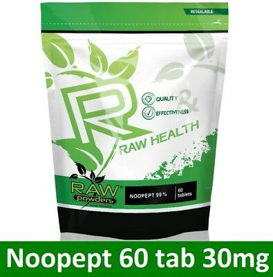 RAW Health 60 tab * 30mg | Boost Memory, Brain Function, Focus, Concentration