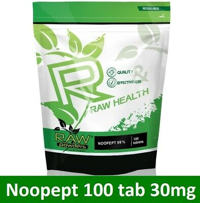 RAW Health 100 tab * 30mg | Boost Memory, Brain Function, Focus, Concentration