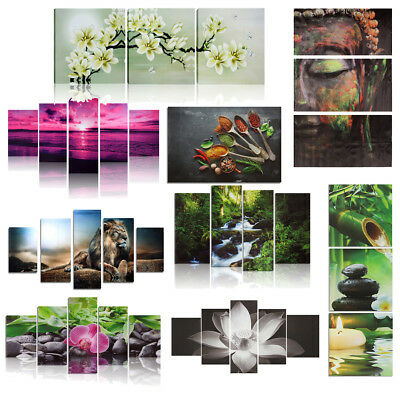 HD Canvas Print Modern Picture Wall Art Decor Home Room Decor Abstract Unframed
