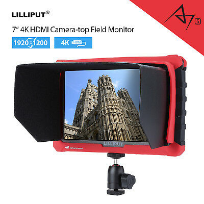 LILLIPUT A7s 7-inch IPS 1920x1200 Camera Field Monitor 4K UHD 170° Wide Viewing